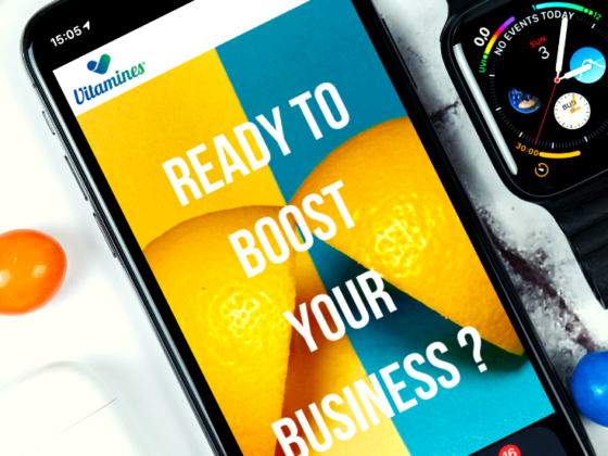 Vitamines Agency website